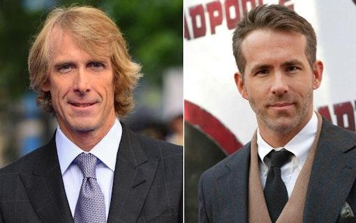 Ryan Reynolds och Michael Bay gör film ihop