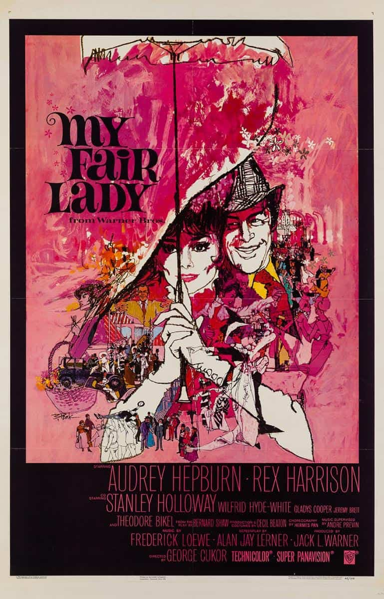 Poster till My Fair Lady (1964).