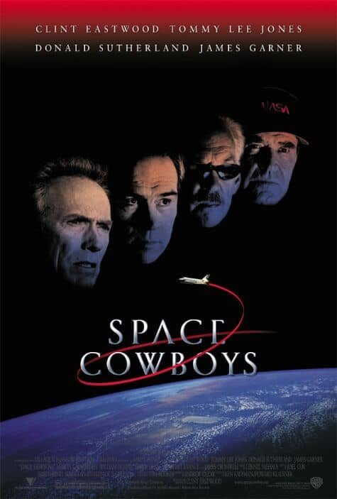 Poster till Space Cowboys (2000).