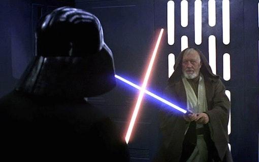 Obi-Wans första ljussabel auktioneras ut