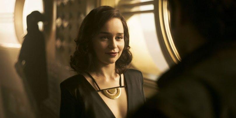 Emilia Clarke i Solo