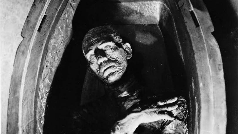 Boris Karloff i Mumien.
