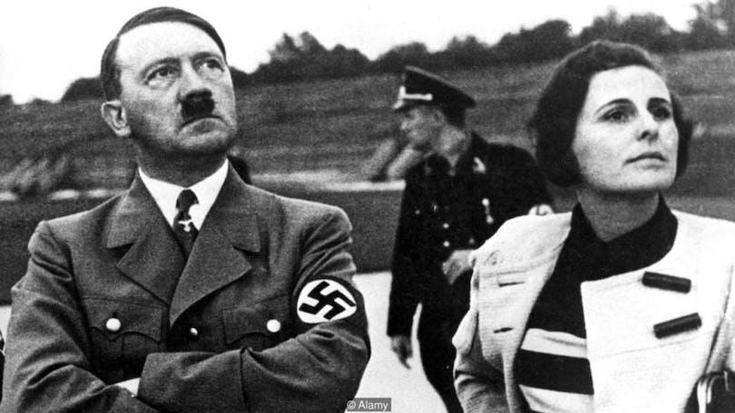 Adolf Hitler och Leni Riefenstahl.