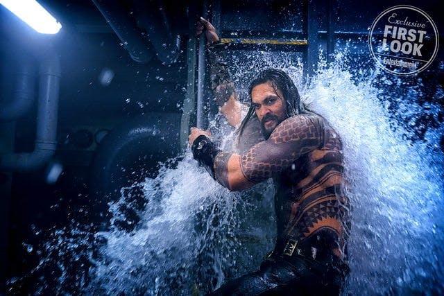 Jason Momoa som Aquaman.