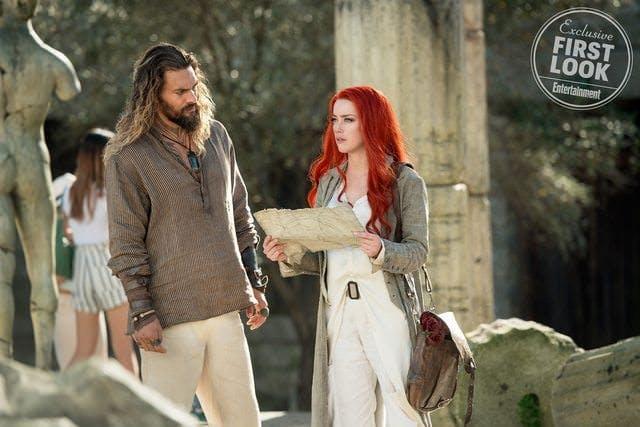 En av de nya bilderna till Aquaman.