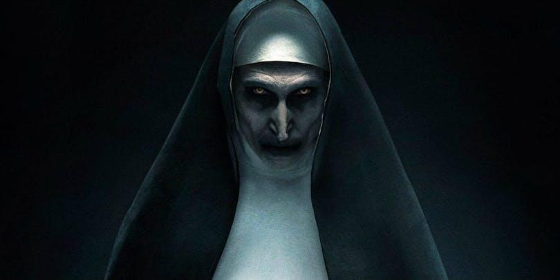 Den demoniska nunnan i The Nun.