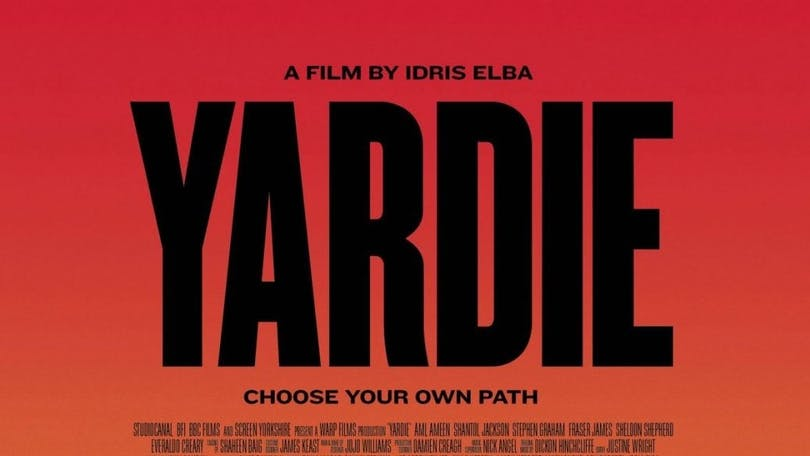 Poster från filmen Yardie.