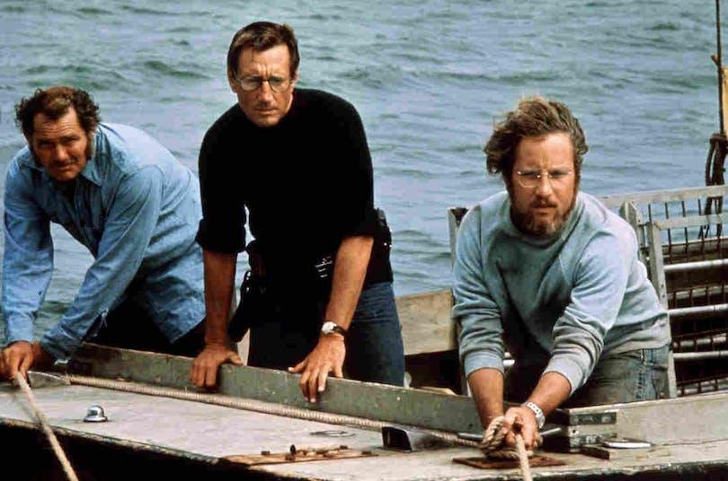 Huvudpersonerna i Jaws
