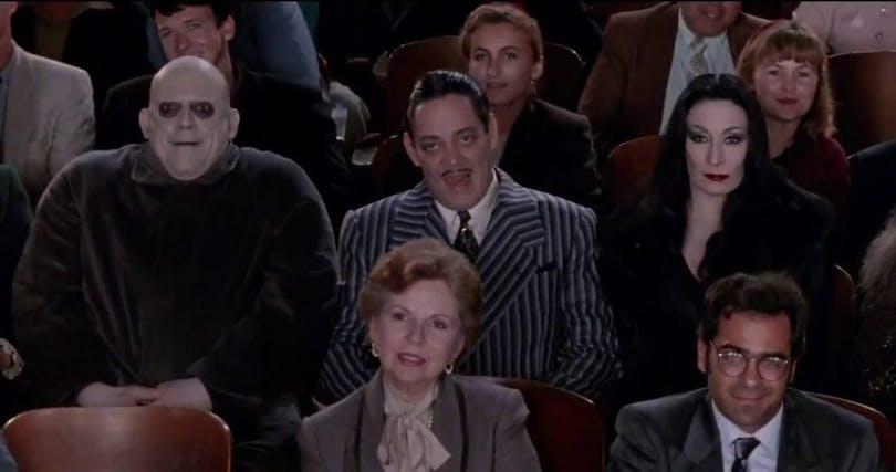 Familjen Addams.