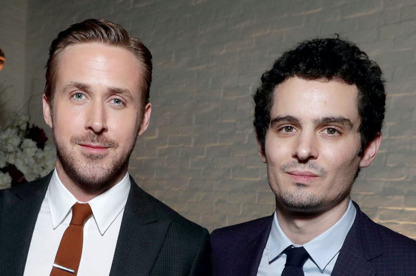 Ryan Gosling och Damien Chazelle.