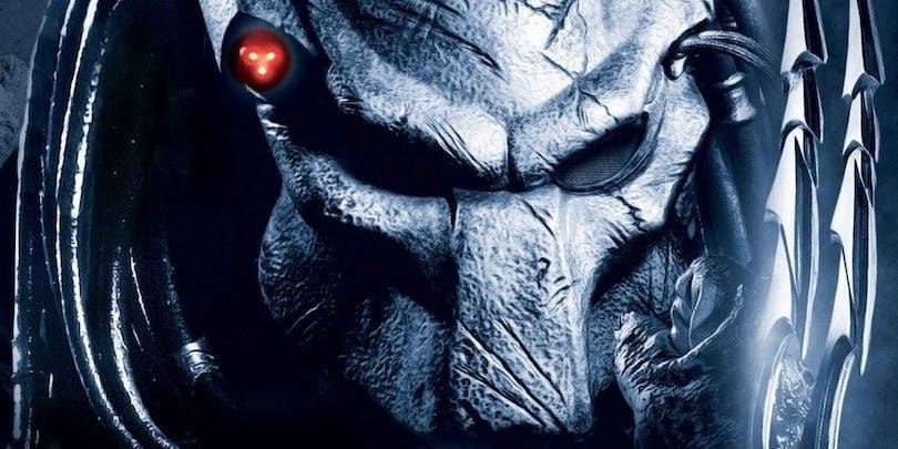 En närbild på en Predator.