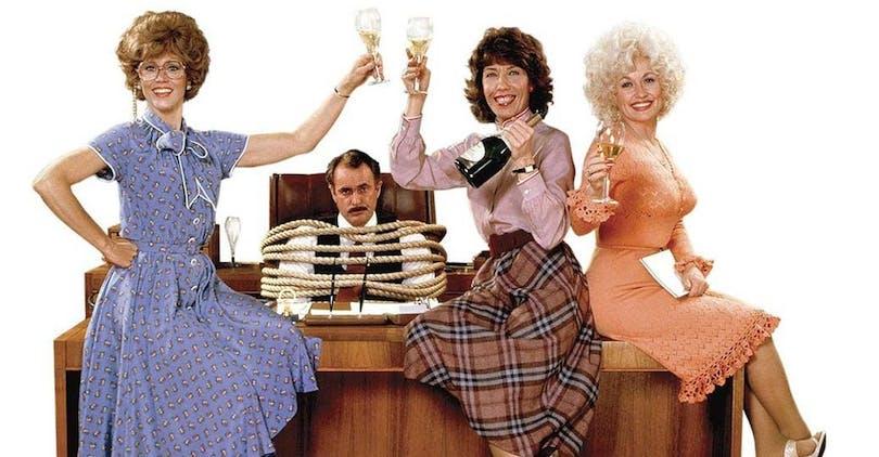 Jane Fonda, Lily Tomlin och Dolly Parton.