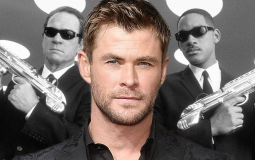 Bilder på Chris Hemsworth i nya Men in Black