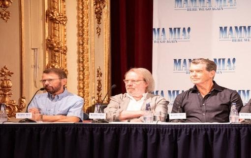 Presskonferens för Mamma Mia! Here We Go Again