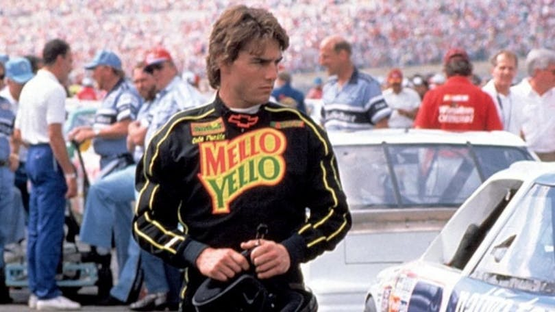Tom Cruise i Days of Thunder.