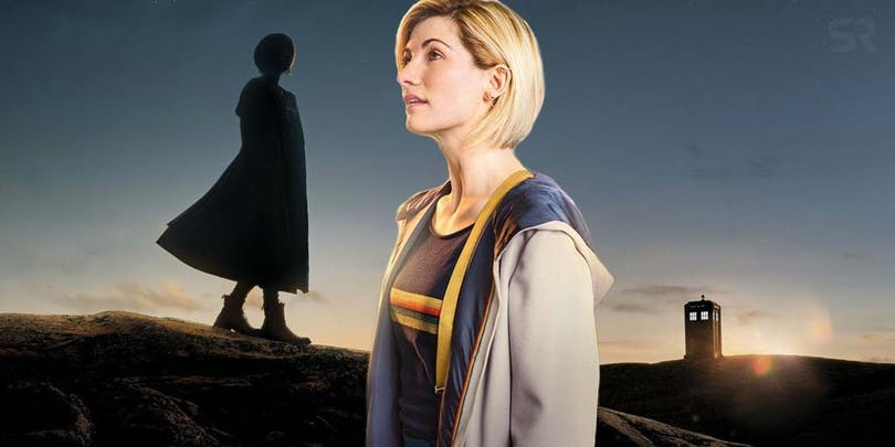 Jodie Whittaker som Doctor Who.