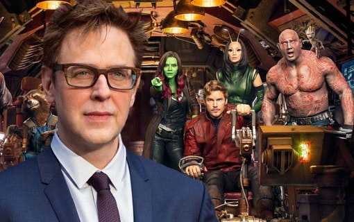 James Gunn sparkad från Guardians of the Galaxy