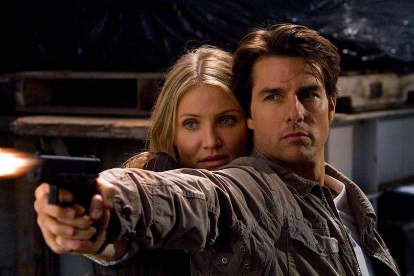 Cameron Diaz och Tom Cruise.