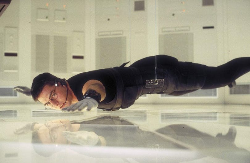 Tom Cruise i Mission: Impossible.