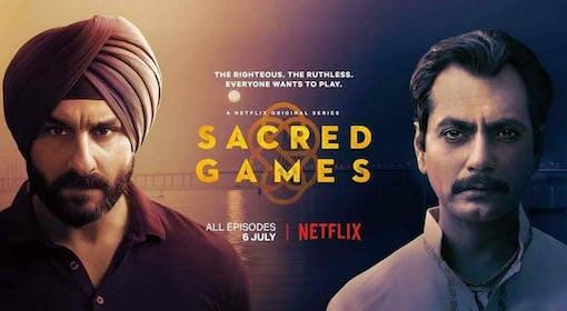 Sacred Games på Netflix