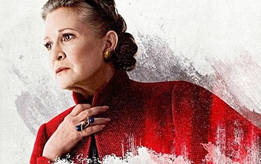 Prinsessan Leia återvänder i Star Wars 9