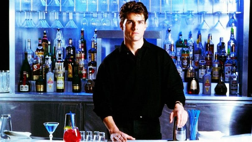 Tom Cruise i Cocktail.