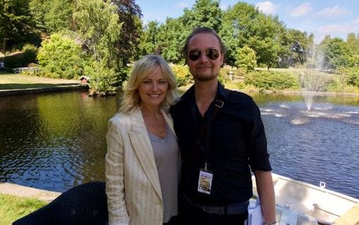 Malin Åkerman och Eric Diedrichs