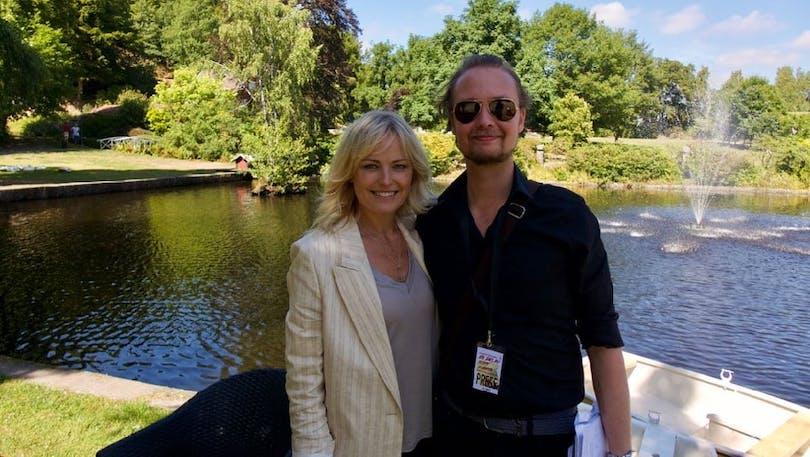 Malin Åkerman och Eric Diedrichs.