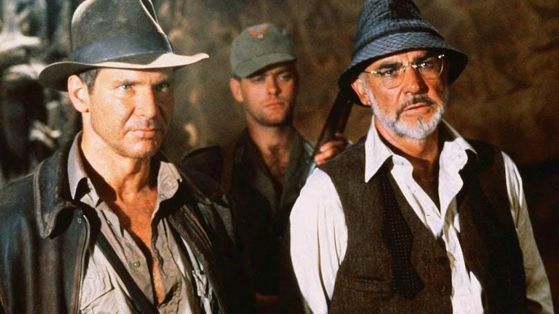 Harrison Ford och Sean Connory