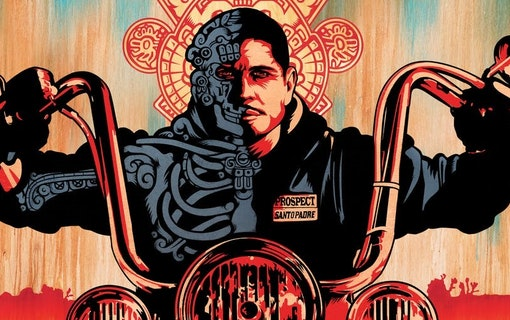 Går serien Mayans M.C. in i Sons of Anarchy?