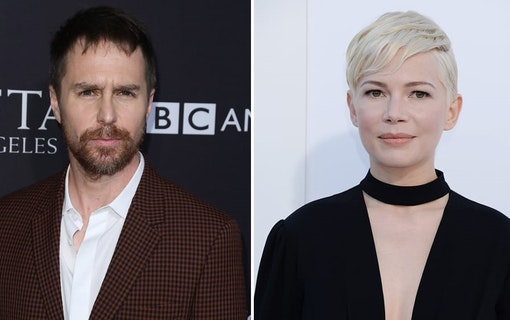 Michelle Williams och Sam Rockwell huvudroller i dramaserie