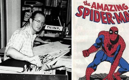 Steve Ditko –Skaparen bakom Spindelmannen död