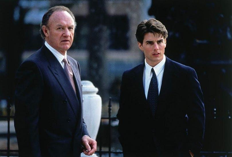 Gene Hackman och Tom Cruise.