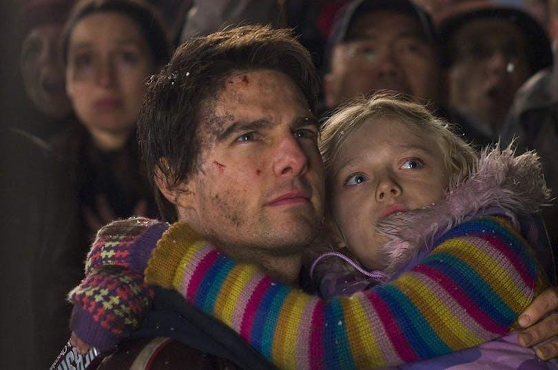 Tom Cruise och Dakota Fanning i Världarnas krig.