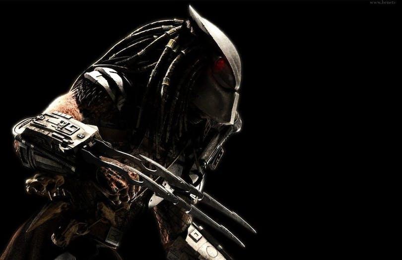 På bilden ser du den senaste predatorn