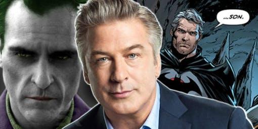 Alec Baldwin som Bruce Waynes pappa i Jokern