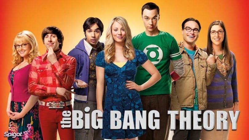 På bilden ser vi The Big Bang Theory gänget
