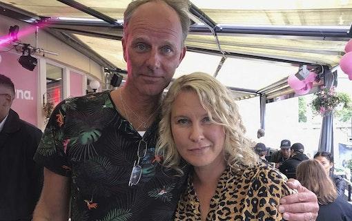 John Ajvide Lindqvist och Eva Melander.