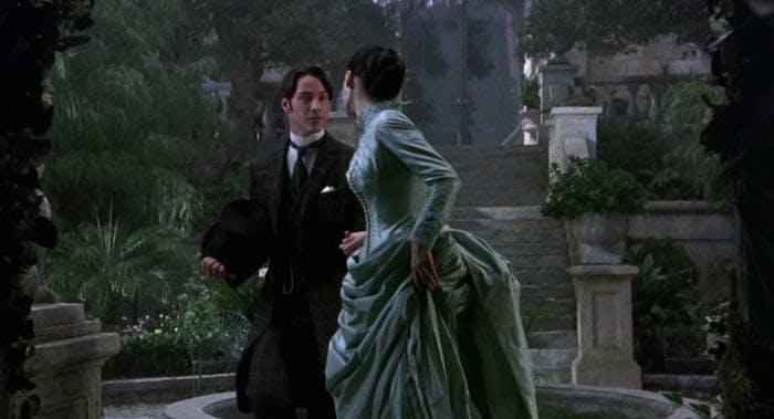 """Keanu Reeves och Winona Ryder i Francis Ford Coppolas """"Dracula"""""""