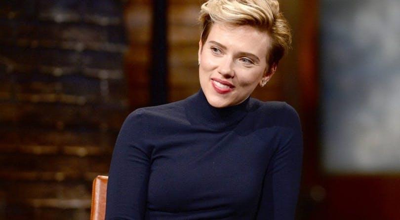 På bilden ser vi Scarlett Johansson