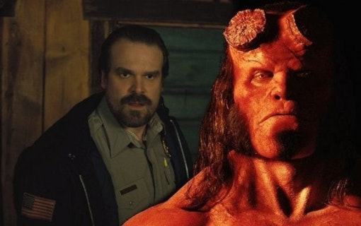 David Harbour som Hellboy i ny film