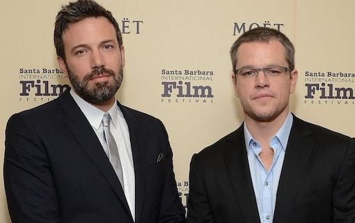 Matt Damon och Ben Affleck i ny film tillsammans