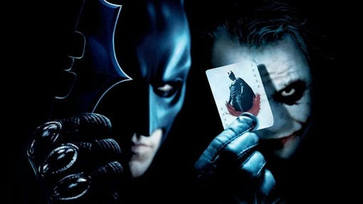 The Dark Knight visas i IMAX format