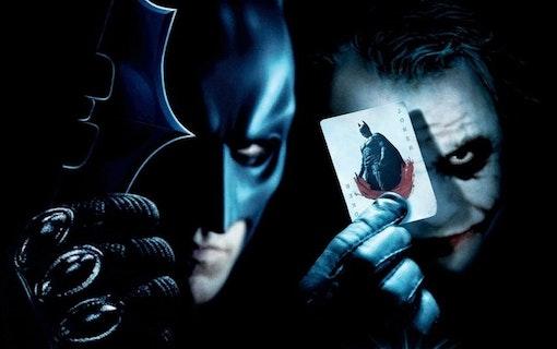 The Dark Knight visas i IMAX format