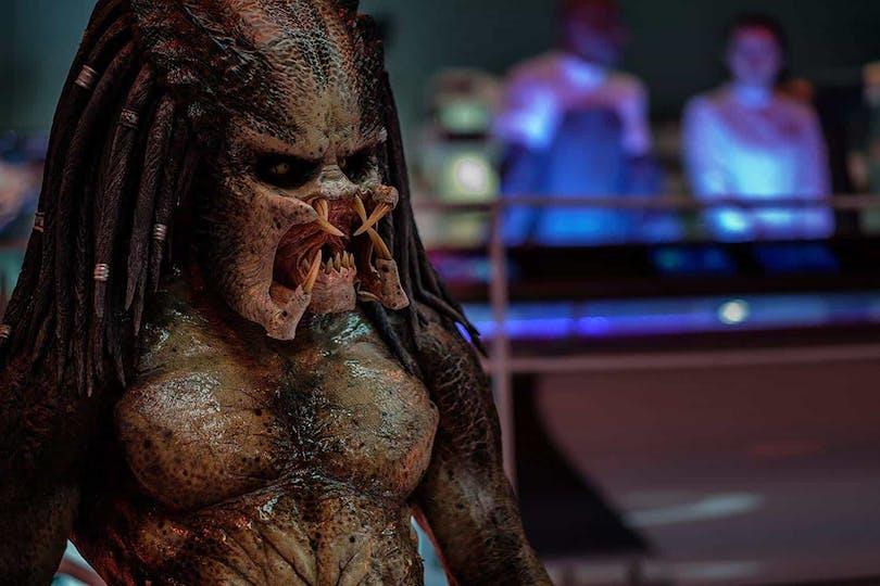 Jägaren/Monstret i The Predator