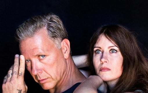 Mikael Persbrandt och Anna Odell i nya filmen X&Y