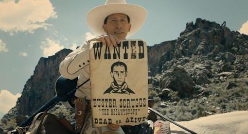 Ny poster till bröderna Coens The Ballad of Buster Scruggs