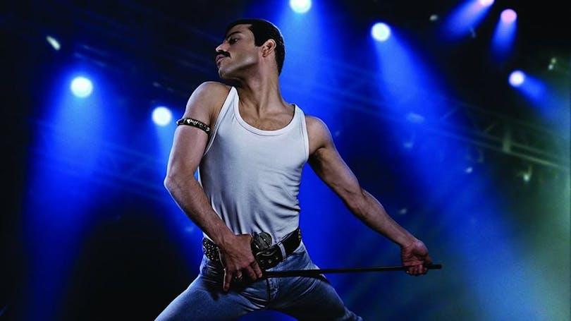 Rami Malek som Freddie Mercury i Bohemian Rhapsody.