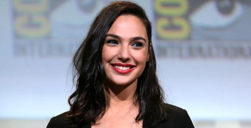 Gal Gadot på Comic Con.