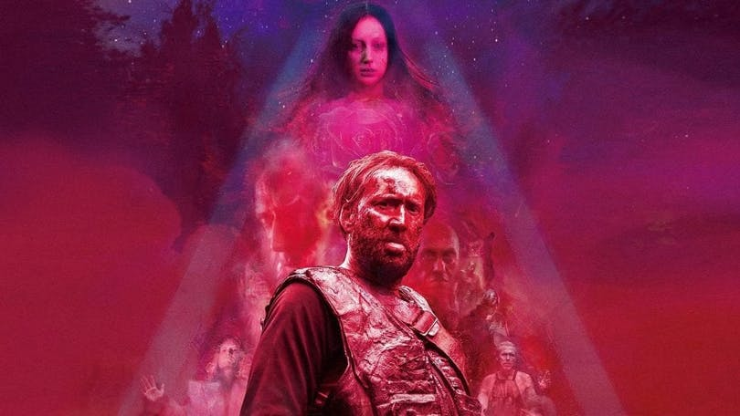 From the poster to Mandy by filmmaker Panos Cosmatos.